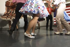 Square dancing is a traditional part of American life.