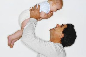 Bonding with dad is important for a baby's cognitive development.