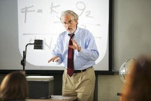 Professors and lecturers are both involved in teaching.