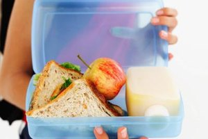 Packed lunches guarantee healthy teen dining choices.