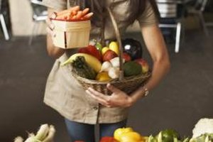 Offer unusual varieties of fruits and vegetables in your store.