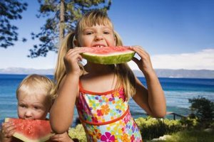 Don't forget to serve fresh fruit -- even on vacation.