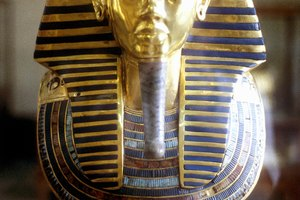 Ancient Pharaoh Tutankhamun's Tomb Treasure in Egypt