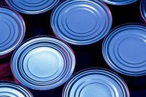 Organizing canned goods now saves time later.
