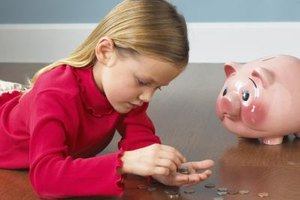 Counting the coins she's saved brings real meaning to counting coins.