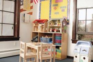 A kindergarten classroom can look formidable to your young child.