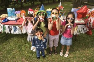 Plan some activities for your birthday party guests.
