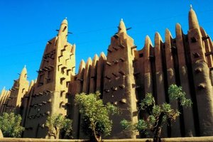 Islamic architecture abounds in Songhai-controlled places such as Djenne.