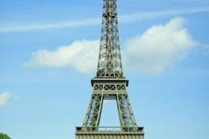The Eiffel Tower is among the most famous landmarks in the world.