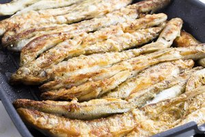 Anchoas a la parrilla.