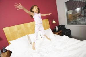 Huntington has several activities to give your little one an alternative to jumping on the bed.