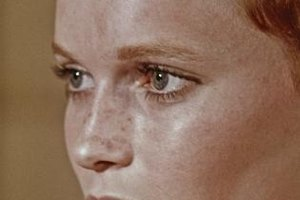 Mia Farrow, circa 1968, epitomizes the fresh, youthful appeal of freckles.