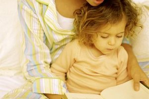 Reading to your child will help promote her auditory perceptual development.