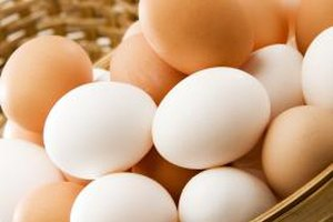 It is OK to substitute medium eggs for large in baking.