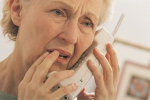 Even mild levels of hearing loss make telephones difficult to use.