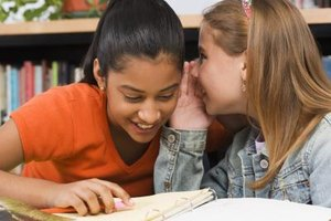 Students should be paired or placed in small groups to practice talking.