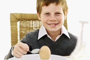 Eggs make an ideal child-sized protein snack.