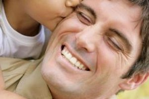 Recognize your partner for the awesome dad he is.