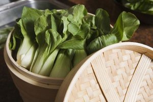 Steam bok choy for a simple side dish.