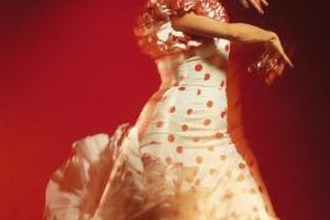 Ole! The allure of flamenco attracts kids and adults alike.