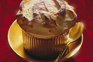 A well-made souffle billows startlingly in the oven's heat.
