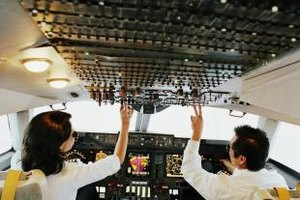 Airline pilot starting pay is relatively low and hours are long.
