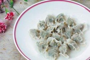 Boiled dumplings are tender and moist.