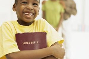 Bible activities will help children learn about God and have fun.