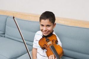 Your child is more likely to practice if he enjoys violin lessons.