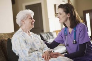 Some community health nurses engage in home health care.