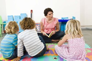 Activities to Do With Children Aged 2 to 3 in the Nursery