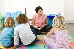Story time is an important tool for developing and observing a preschooler's literacy skills.
