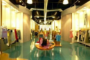 Visual merchandisers keep the product of a store looking new and of high quality.