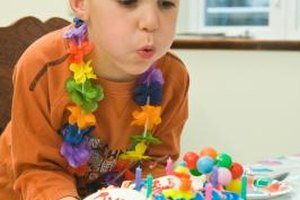 Get your 5-year-old's help to create the birthday invitations.