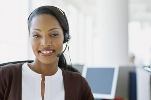 Customer service reps answer questions and solve problems.