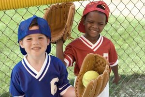 Children can participate in sports such as baseball and softball in Yorba Linda.
