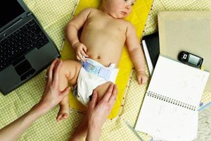 Red marks on your baby's legs may mean you need to move to a larger diaper.