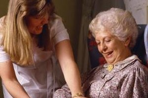 Caregivers, whether family or hired professionals, help people with daily needs.