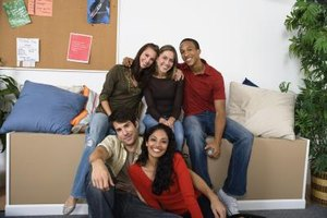 Dorm life generally means more social opportunities but can also feel more regimented.