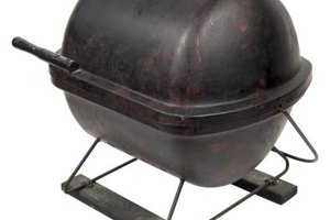 You can easily convert a backyard grill into a temporary smoker.