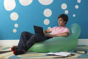 Teens addicted to technology often neglect their school work.