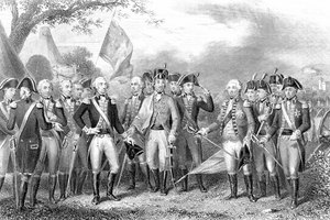 What Color Were the Colonial Uniforms in the Revolutionary War?