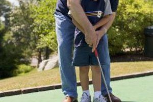 Enjoy a little friendly competition on a miniature golf outing.