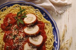 Pasta dishes make an easy-to-freeze meal.