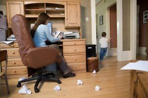 The Internet has allowed stay-at-home moms to telecommute and earn income.