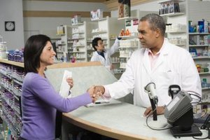 Pharmacies record depreciation on their financial records and tax return.
