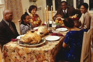 Attending a Thanksgiving dinner may be a family obligation.