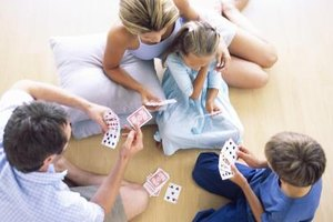 Your child may eventually be ready to play simple games with family and friends.