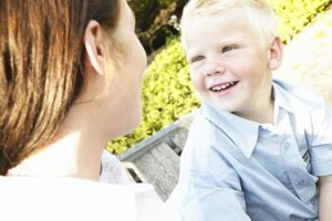 Talking to your preschooler about his bad behavior is an effective way to change it.