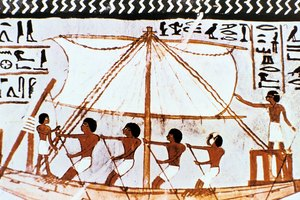 About Ancient Egyptian Boats & What Was Carried on Them